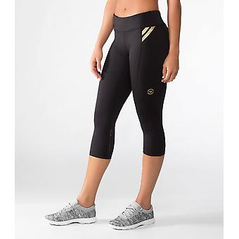 Virus EAU8 Womens Bioceramic Compression Crop Pants - Black