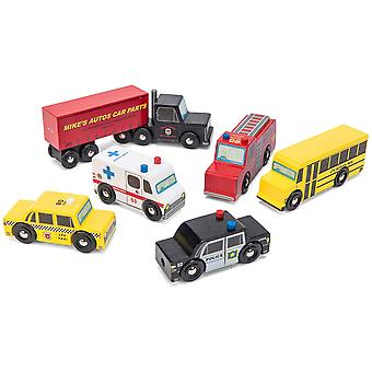 Le Toy Van Cars & Construction New York Car Set