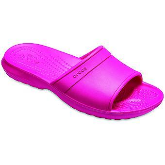 Crocs meisjes klassieke Super lichtgewicht Slip op de schuifregelaar sandalen