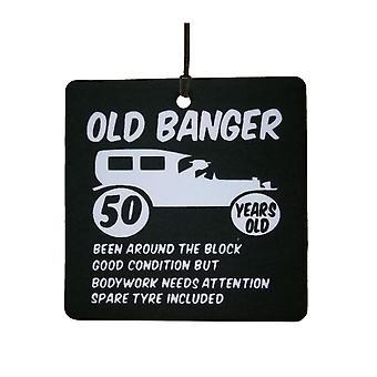 Alten Banger 50. Geburtstag Auto Lufterfrischer