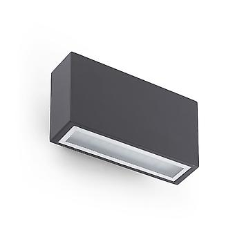 Faro - Tane Dark Grey LED Outdoor Wall Light FARO72269