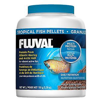 Fluval Tropical 3mm Sinking Pellets 150g