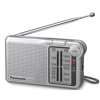 Panasonic Portable AM/FM Radio - Silver (Model No. RFP150DEG-S)