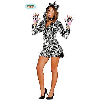 Sexy traje de cebra para damas carnaval Disfraces de animales salvajes de caballos