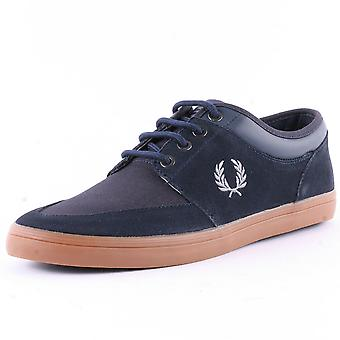 Fred Perry Men's Stratford Suede Leather Trainers B6288-608