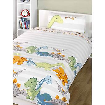 Dinosaurier Natural 4 i 1 junior Bedding Bundle