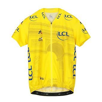 Tour de France Le Coq Sportif Kids Replica Arrivee Jersey | Yellow | 2019 | 10