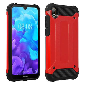 Défenseur II Protection Case Huawei Y5 2019 / Honor 8S - Rouge