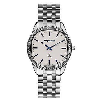 ORPHELIA Ladies Analogue Watch The Ego Silver Stainless steel 153-2700-88