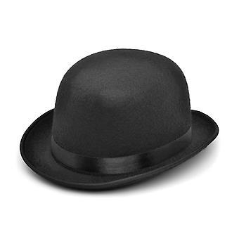 Bristol nieuwigheid Unisex volwassenen zwart vilt Bowler hoed