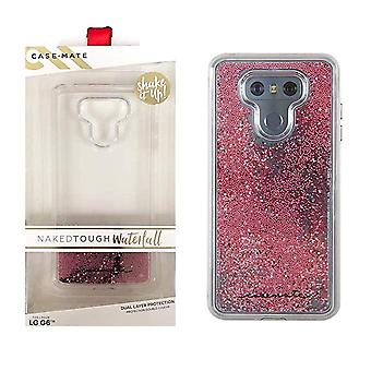 Case-mate Naked Tough Waterfall Case for LG G6 - Rose Gold