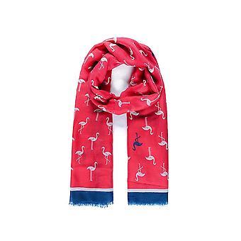 Intriga Womens/Ladies Flamingo lenço de impressão