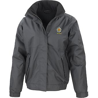 Royal Scots Veteran - Licensed British Army Embroidered Waterproof Jacket With Fleece Inner