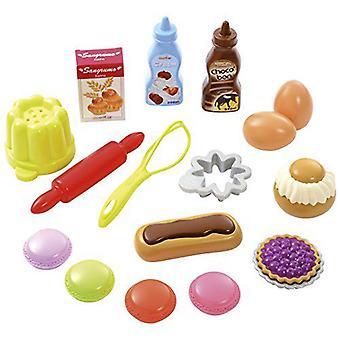 Smoby Kunststoff-Backset (Babys und Kinder , Spielzeuge , Heim Und Beruf)