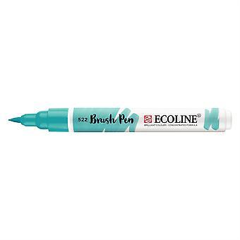 Talens Ecoline Liquid Watercolour Brush Pen - 522 Turquoise Blue
