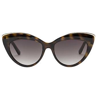 Le Specs Beautiful Stranger Tortoise Cat Eye Sunglasses