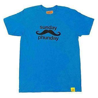 Team phun sunday phunday tee shirt blue