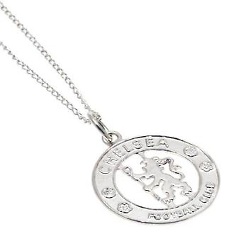 Chelsea FC Sterling Silver Pendant And Chain