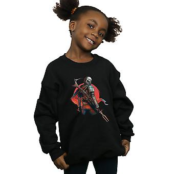 Star Wars Girls The Mandalorian Blaster Rifles Sweatshirt