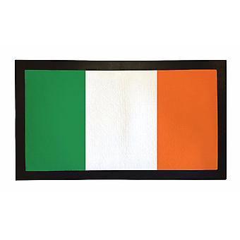 Painettu Bar Runner Ireland Flag kumi Baari matto Mens Gift Idea