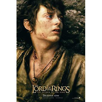 The Lord Of The Rings: The Return Of The King (Double Sided Advance) (Frodo) Original Cinema Poster