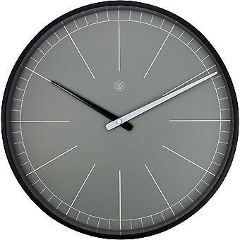 nXt-Wandklok-Ø 40 cm-kunststof-grijs-' grijs '