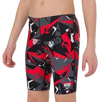 Speedo Boys Kids Star Wars Alliance Camo Swimming Swim Jammers Shorts - Black