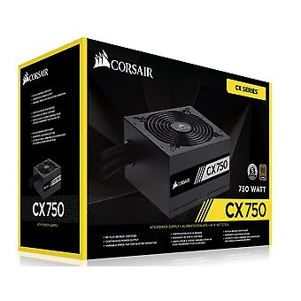 Corsair 750W Cx 80 + Bronze 140Mm Fan Black Atx Psu 2017 Version
