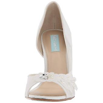 Blue by Betsey Johnson Women's Sb-Anise Heeled Sandal