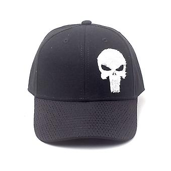 Marvel Comic Punisher Varsity réglable Baseball Cap noir taille unique BA020282PUN