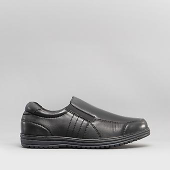 Dr Keller Jeremy 2 Mens Slip On Wide Fit Loafers Black