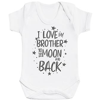 I Love My Brother To The Moon And Back Baby Bodysuit