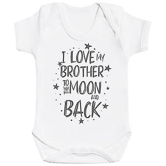 Jeg elsker min bror til månen og tilbake baby Body