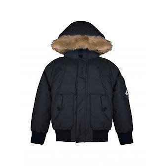 Pyrenex Kids Navy Jami Parka Jacket