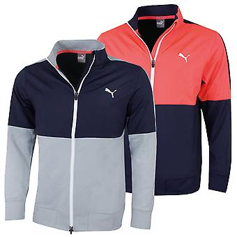 Puma Golf Herren PwrWarmCELL Full Zip Stretch Track Jacke