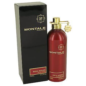 Montale red aoud eau de parfum spray by montale 533765 100 ml