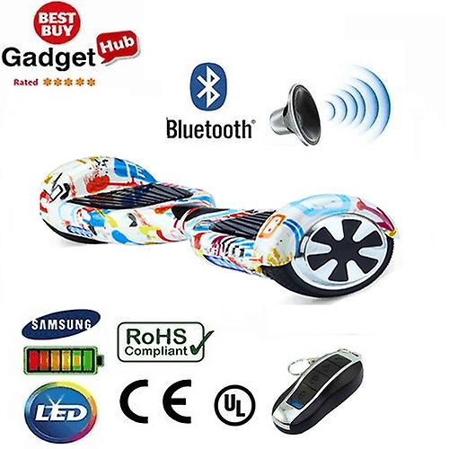 H1- 6.5 inch Graffiti Bluetooth Segway Hoverboard