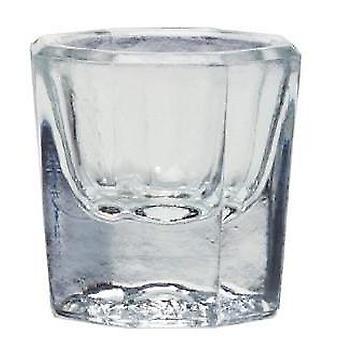 Krawędź szklane danie dappen
