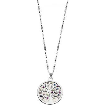 Necklace and pendant Lotus Silver TREE OF LIFE LP1889-1-1 - necklace and pendant TREE OF LIFE money woman