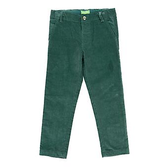 Lily Balou Noah Velours Broek Dark Green