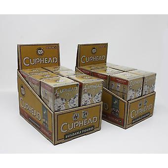 Cuphead Blind Box Assortment  24 Bausatz-Figuren, sortiert. Hersteller: McFarlane.