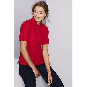 UNEEK Uneek Womens Polo Shirt Red