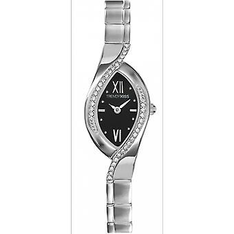 Watch Trendy Kiss TM3747-02 - woman oval steel gray