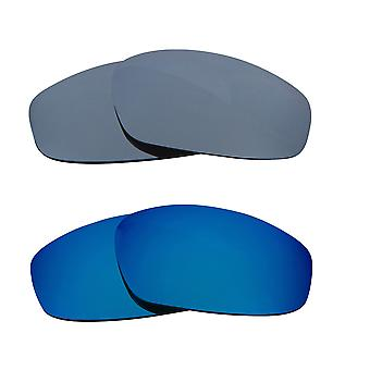 Replacement Lenses for Oakley Wind Jacket Sunglasses Multi-Color Anti-Scratch Anti-Glare UV400 by SeekOptics