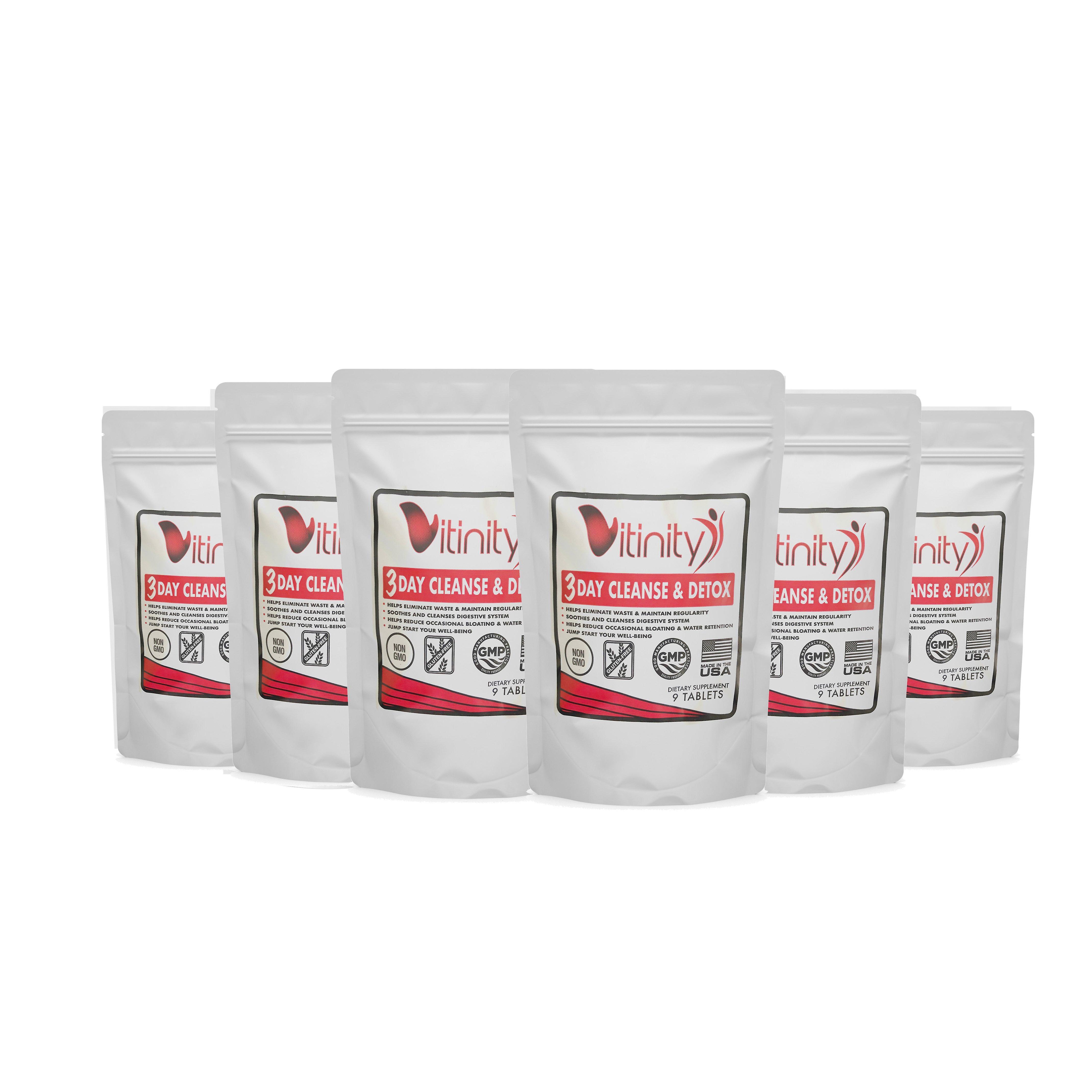 3 dagen detox-natuurlijke hele lichaam-Colon Cleanse voor spijsvertering gezondheid-6 pack