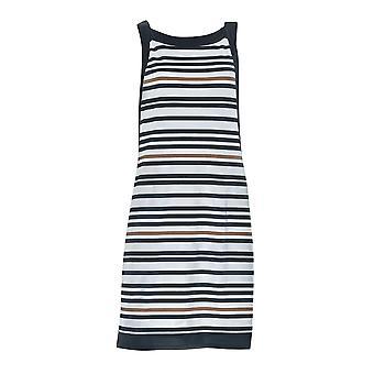 Opera 63308-901 Women's Golden Line Black and White Beach Dress