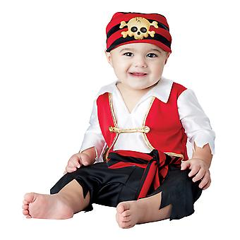 Pee Wee Pirate Jack Sparrow Caribbean Captain Book Week Toddler Boys Costume