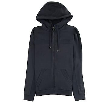 Hugo Boss Saggy Zip Up Hoody Schwarz