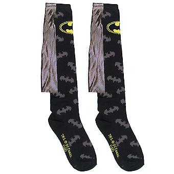 Batman Gold fólia kapitány térd magas nők ' s zokni