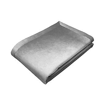 Mcalister textiles shiny silver crushed velvet throw